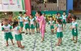 Trường Mầm non Hoa Mùa Xuân: Thực hiện tốt chế độ đãi ngộ  để thu hút giáo viên