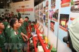 Khai mạc triển lãm '50 năm thực hiện Di chúc Chủ tịch Hồ Chí Minh'