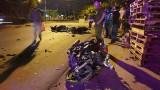 Tai nạn xe máy, 5 người nguy kịch