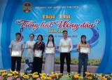 Hội thi Tiếng hát nông dân huyện Bắc Tân Uyên: Xã Tân Lập đạt giải nhất