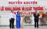 Trường THCS-THPT Nguyễn Khuyến và Ngô Thời Nhiệm khai giảng năm học mới