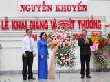 阮劝高初中学校和吴时任学校举行新学年开学典礼