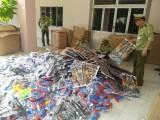 Thu giữ lô hàng lớn đồ chơi trẻ em bằng súng nhựa