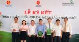 Huyện Bắc Tân Uyên và Vietcombank Bình Dương ký kết tạo điều kiện thuận lợi cho người nộp thuế