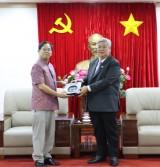 平阳省领导会见泰国驻胡志明市总领事