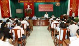 平阳省省委工作团与顺安市市委常委会举行工作会议