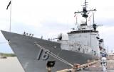Tàu hải quân Philippines cập cảng TP.HCM, bắt đầu thăm Việt Nam