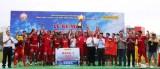 Đội bóng Công ty Hoàng Gia giành Cúp Becamex IDC 2019