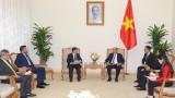 越南政府总理阮春福会见尼加拉瓜外长孟卡达