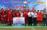 Hoang Gia football team won the Binh Duong New City Soccer Cup Becamex IDC Cup in 2019
