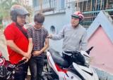 Tạm giữ nghi can cướp xe máy của người đi đường