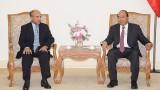 越南政府总理阮春福会见沙特阿拉伯驻越南大使