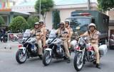 Nỗ lực bảo đảm an toàn giao thông trên các tuyến đường trọng điểm