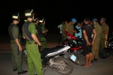 Công an huyện Dầu Tiếng: Tuần tra đêm, chủ động phòng chống tội phạm