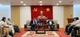 平阳省人民委员会领导会见世行工作代表团
