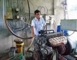 Chuyện làm điện từ khí biogas của ông Túc