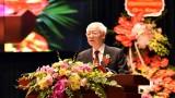 越共中央总书记、国家主席阮富仲出席胡志明国家政治学院成立70周年纪念典礼