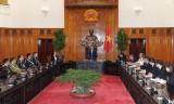 越南政府总理会见出席东盟警察首长会议的各位团长