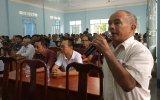 Phường Bình Chuẩn, TX.Thuận An: Tổ chức diễn đàn công an lắng nghe ý kiến nhân dân