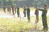 Bộ tư lệnh quân đoàn 4: Tổ chức hội thi điều lệnh, bắn súng và thể lực