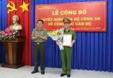Trao quyết định bổ nhiệm Trưởng Công an huyện Bàu Bàng
