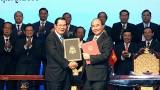2006-2019年阶段越柬陆地边界勘界立碑工作总结会议在越南召开