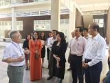 Ban Văn hóa - Xã hội, HĐND tỉnh: Giám sát kết quả thực hiện Nghị quyết 20 tại Trường Đại học Quốc tế Miền Đông