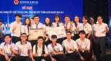 Sinh viên Trường Đại học Thủ Dầu Một đạt giải 3 cuộc thi ý tưởng khởi nghiệp toàn quốc