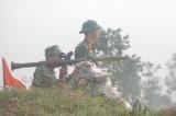 Sư đoàn 9, Quân đoàn 4: Tổ chức diễn tập và bắn đạn thật cấp phân đội