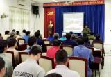 Tập huấn phòng cháy, chữa cháy cho các đơn vị ở KCN Nam Tân Uyên