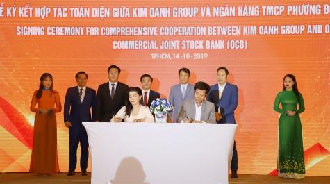 Kim Oanh Group hợp tác chiến lược với OCB, CornerStone Việt Nam và Trung Hậu