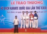 Karate Bình Dương: Khẳng định lại sức mạnh