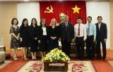 平阳省领导人会见RMIT大学代表团