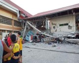 A 6.4-magnitude quake hit Mindanao in the south of the Philippines on October 16.