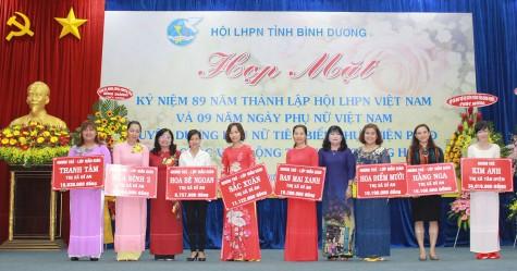 Phụ nữ Bình Dương: Khẳng định vai trò, vị thế