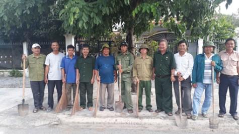 Hội Cựu chiến binh Tp.Thủ Dầu Một: Tích cực tham gia nhiều phong trào của địa phương