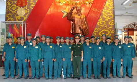 Lực lượng vũ trang Tx.Dĩ An: Mỗi ngày học một câu chuyện về Bác