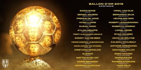 Công bố danh sách đề cử tranh danh hiệu Quả bóng vàng 2019