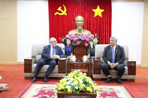Bình Dương tăng cường hợp tác trên các lĩnh vực thông minh với Vương quốc Bỉ