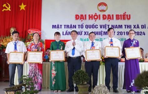 MTTQ Việt Nam TX.Dĩ An: Tiếp tục đổi mới mạnh mẽ nội dung và phương thức hoạt động