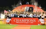 Hà Nội FC chính thức nâng chiếc cúp vô địch V-League 2019