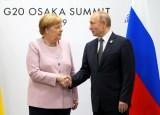 Tổng thống Nga và Thủ tướng Đức điện đàm về Syria, vấn đề khí đốt