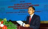 """Hội thảo quốc tế """"Di sản Hồ Chí Minh với ngoại giao văn hóa Việt Nam"""""""