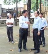 Chuẩn bị chu đáo cho lễ giỗ cụ Phó bảng Nguyễn Sinh Sắc