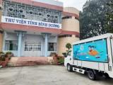 Thư viện tỉnh: Nhận tài trợ xe ô tô Thư viện lưu động đa phương tiện