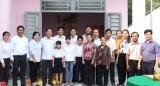 Bàu Bàng: Trao nhà đại đoàn kết cho gia đình có hoàn cảnh khó khăn