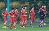 Đội tuyển Việt Nam sẵn sàng cho trận đấu với UAE