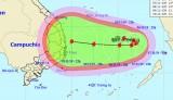 Áp thấp nhiệt đới trên Biển Đông mạnh lên thành bão số 6