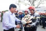 Tổ chức diễn tập ứng phó sự cố môi trường do cháy nổ