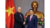 越南政府副总理王廷慧会见亚太反洗钱小组(APG)代表团